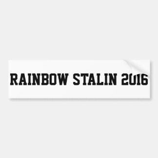 RegnbågeStalin bildekal 2016