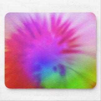 Regnbågetie-färg Musmatta