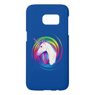 RegnbågeUnicorn Galaxy S5 Skal