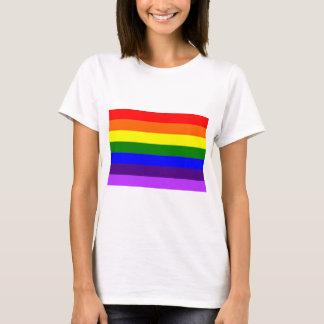 Regnbågsflaggan // Rainbow flag T-shirt