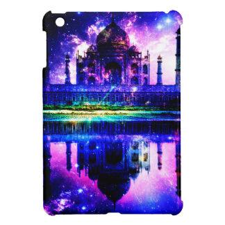 Regnbågsskimrande Taj Mahal drömmar iPad Mini Skydd