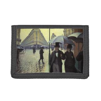 Regnig dag för Paris gata av Gustave Caillebotte