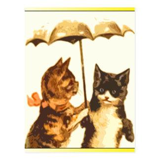 Regnig dag vykort