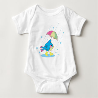 Regnig dagspädbarnranka t-shirt