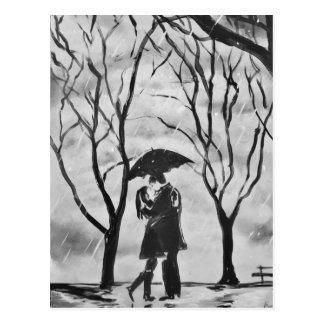 Regniga dagkyssar vykort