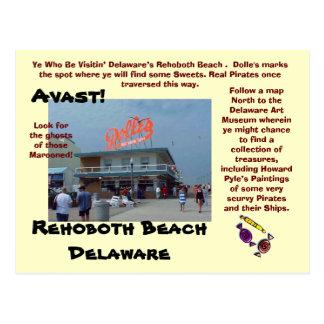 Rehoboth strand, Delaware Vykort