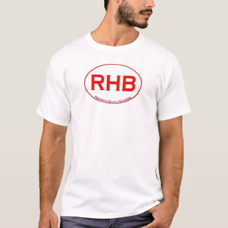 Rehoboth strand i rött tee shirts