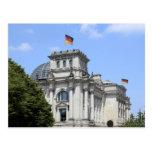 Reichstag Berlin, Tyskland 2 Vykort
