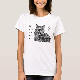 Reiki katt t-shirts
