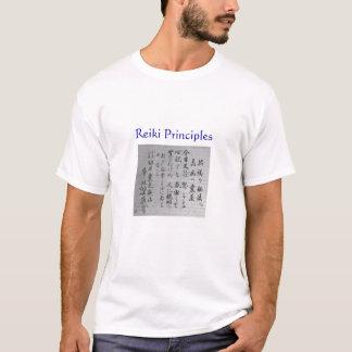 Reiki principer t-shirt