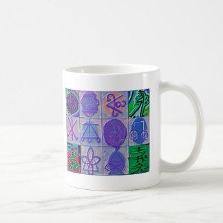 Reiki som läker för Havenly för tecken 12 chinan Kaffemugg