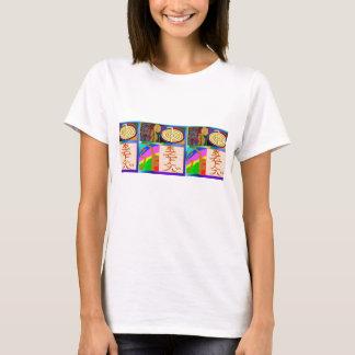 Reiki som läker symboler t-shirt