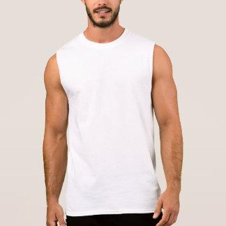 Reiki symbol i baken av T-tröjapoloen T-shirts Utan Ärmar