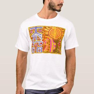 Reiki symbolkonst som LÄKER LEDAR- n-STUDENTER T-shirt