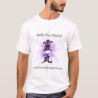 Reiki världen tee shirts