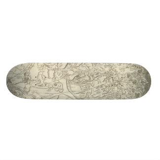 Reims Mini Skateboard Bräda 18,7 Cm
