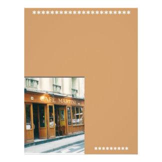 Reklamblad/Paris Reklamblad 21,5 X 30 Cm