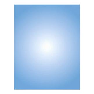 Reklambladmall: Radiell lutning: Blått Reklamblad