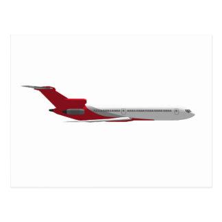 Reklamfilmjetflygplan: 3D modellerar: Vykort
