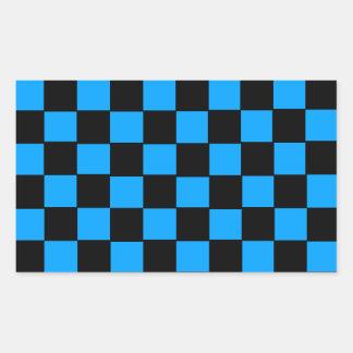 Rektangelklistermärkear som är glansiga rektangulärt klistermärke
