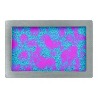 Rektangeln för struktur för neonrosablått spänner
