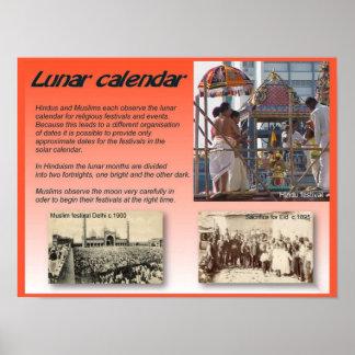 Religion Lunar kalender Print