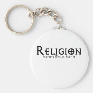 Religion Rund Nyckelring