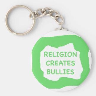 Religionen skapar översittare .png rund nyckelring