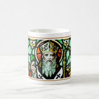Religiösa gåvamuggar för saint patrick's day kaffemugg
