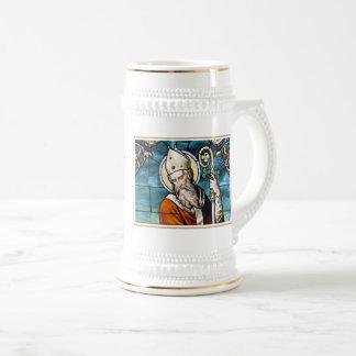 Religiösa gåvamuggar för saint patrick's day sejdel