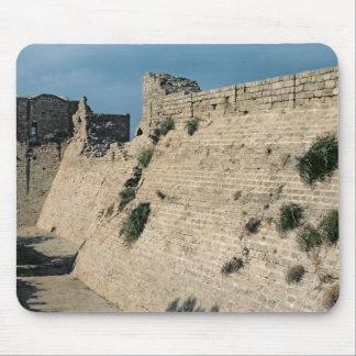 Remains av fästningväggarna, byggd c.37-31 BC Musmatta
