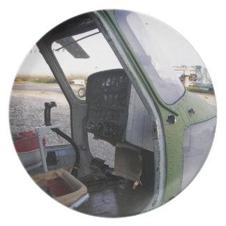 Remains av kalla krigethelicopter.en tallrik