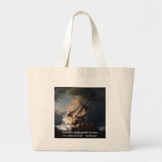 Rembrandt hav av det Galilee & Jumbo Tygkasse