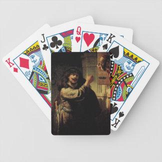 Rembrandt konstmålning spelkort