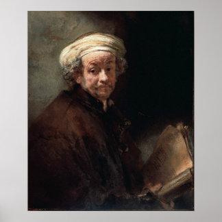 Rembrandt Van Rijn Autoportret Poster
