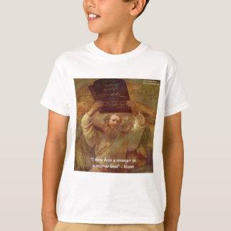Rembrandts Moses & bibliska citationstecken Tshirts