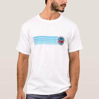 Remsa för blått för medborgareölPong anslutning Tee Shirt