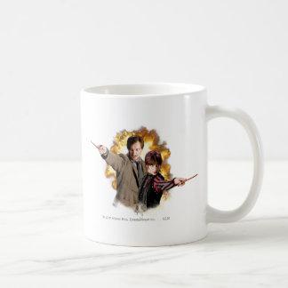Remus Lupin och Nymphadora Tonks-Lupin Kaffe Muggar