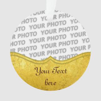 REN BLADGULDgräns + ditt text/foto