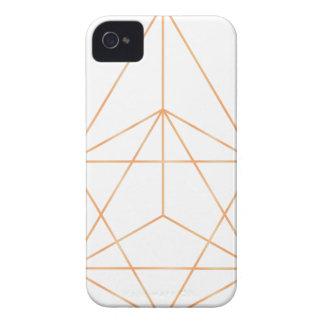Ren geometri 01 iPhone 4 Case-Mate fodral