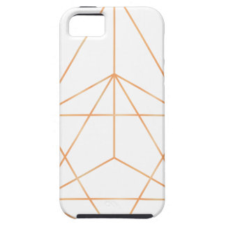 Ren geometri 01 tough iPhone 5 fodral