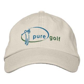 Ren Golf broderad hatt