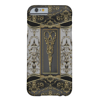Ren Hazlehurst Antiqued 6/6s Scissors VI Barely There iPhone 6 Skal