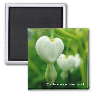 Ren hjärtamagnet magnet