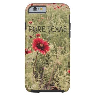 Ren iphone case för Texas Vildblomma-Indier filt Tough iPhone 6 Skal