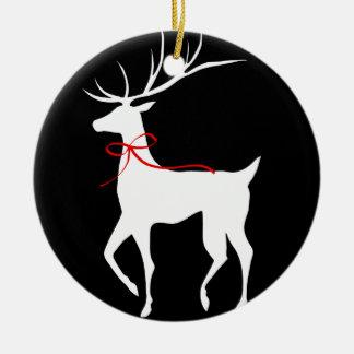 Ren med den röda pilbågen julgransdekorationer
