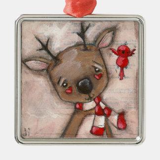 Ren och vän - prydnad julgranskula