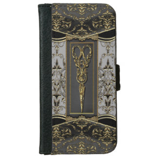 Rena Hazlehurst Antiqued ScissorsIV Plånboksfodral För iPhone 6/6s