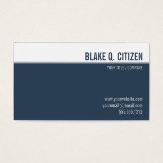 Rena moderna kritiserar blåttvisitkorten visitkort