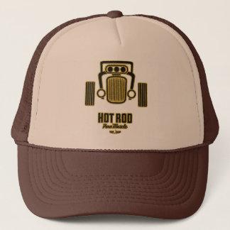 Rena muskeltruckerkepsar för Retro hot rod Truckerkeps
